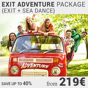 Exit adventure early bird package